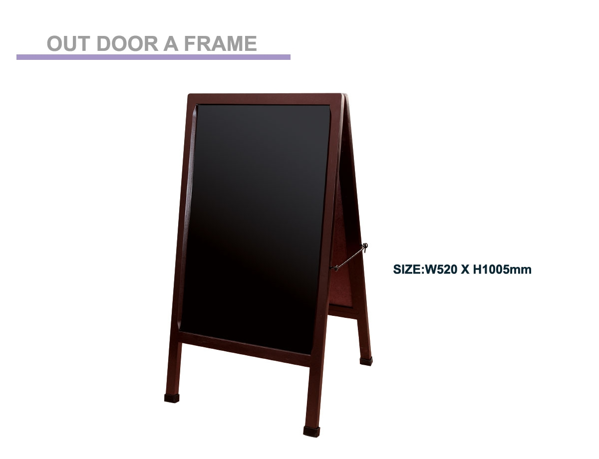 Out Door A Frame Stand // ES-1-M