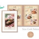 cork edge clear menu