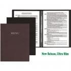 information menu book cover