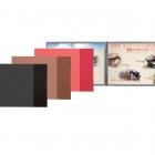 Horizontal Japan style MENU BOOK COVERS