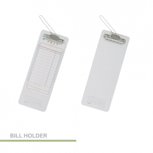 CLIP BILL RECEIVE HOLDER