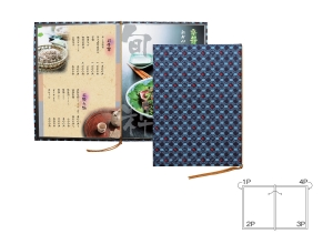JAPAN STYLE MENU BOOK COVER