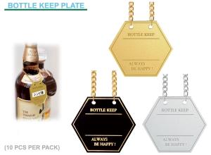 Wine bottle Keeper Plate