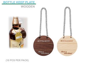 Wine bottle Keeper Plate