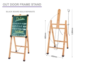 Out Door Menu Stand, Reception Stand