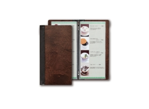 MENU BOOK COVER