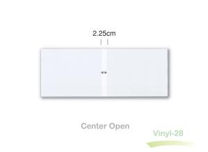 horizontal clear vinyl