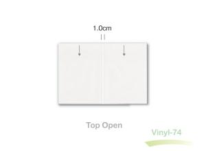 A5 clear vinyl sleeve