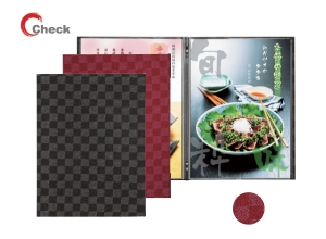 A4 Japanese style menu covers