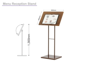 Menu Stand, Reception Stand