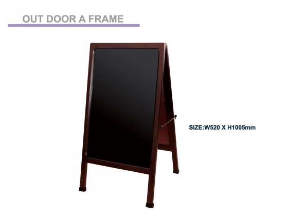 A Frame, Out Door Stand