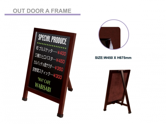 Out Door Sign Stand