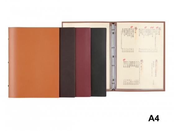 information book menu cover